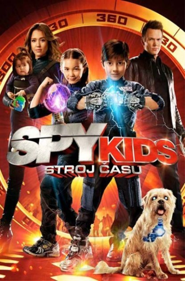 Spy Kids: Stroj času (DVD)