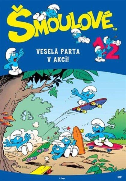 Šmoulové 12 (DVD) (5 dílů)