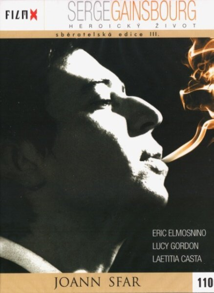 Serge Gainsbourg - heroický život (DVD) - edice Film X