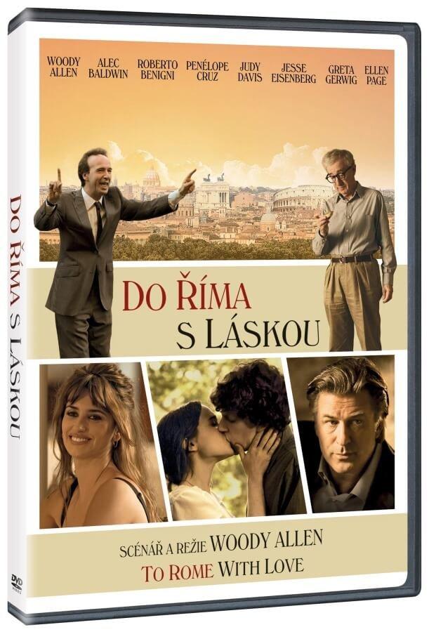 Do Říma s láskou (DVD) - edice Film X