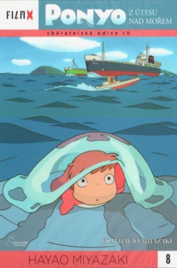 Ponyo z útesu nad mořem (DVD) - edice Film X
