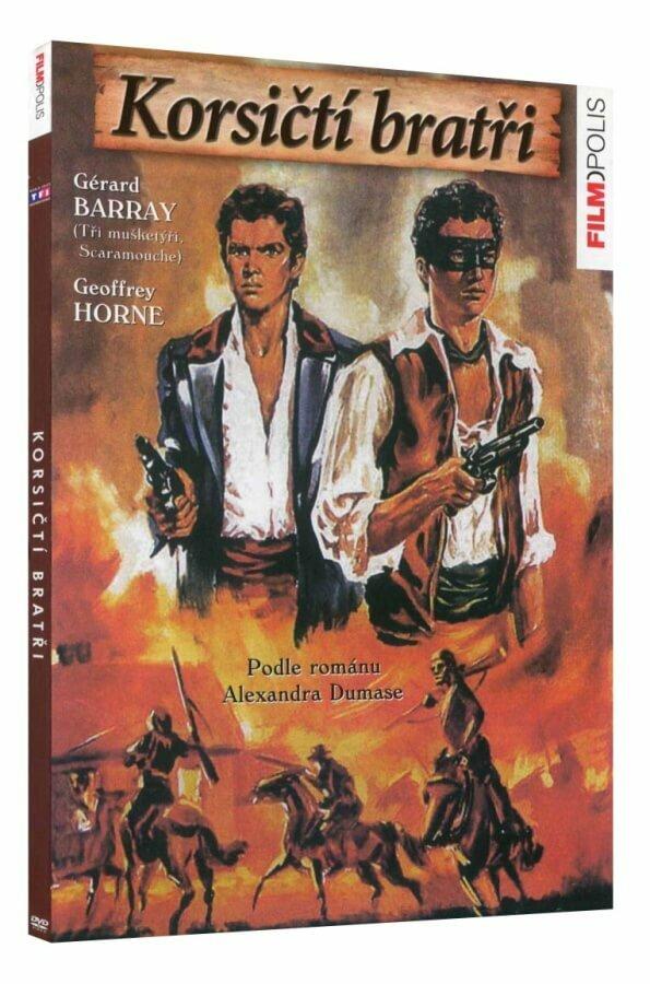 Korsičtí bratři (DVD)