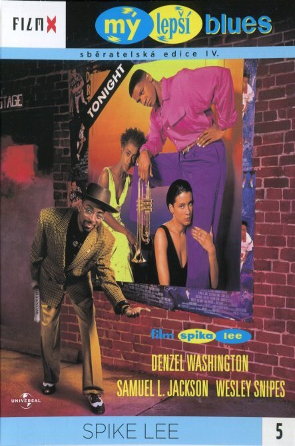 Mý lepší blues (DVD) - edice Film X