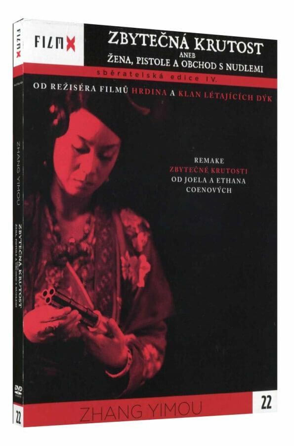 ZBYTEČNÁ KRUTOST aneb ŽENA, PISTOLE A OBCHOD S NUDLEMI (DVD) - edice Film X