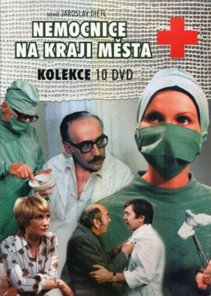 Nemocnice na kraji města - KOMPLET (10 DVD) (papírový obal)