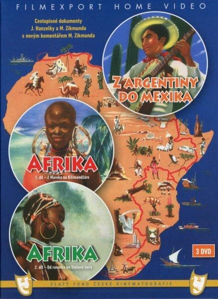 Hanzelka / Zikmund - Afrika 1-2, Z Argentiny do Mexika kolekce (3DVD)