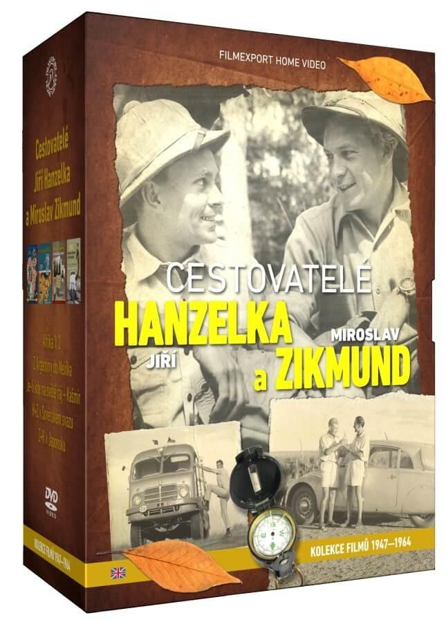 Cestovatelé Hanzelka a Zikmund - sběratelská kolekce - 9xDVD