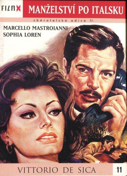 Manželství po italsku (DVD) - edice Film X