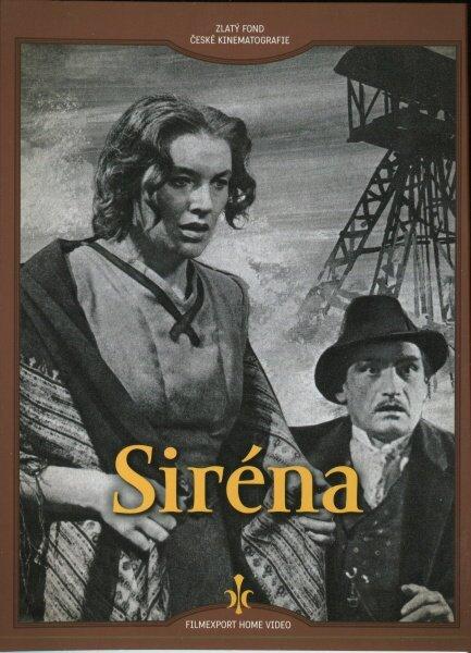 Siréna (DVD) - digipack