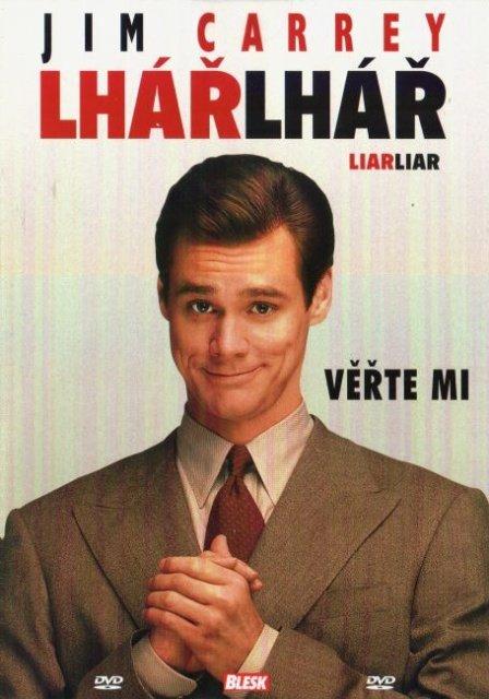 Lhář, lhář (DVD) (papírový obal)