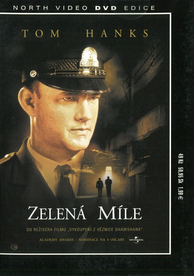 Zelená míle (DVD) (papírový obal)