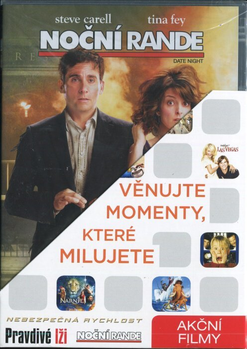 Akční 2 (Noční rande, Nebezpečná rychlost, Pravdivé lži) - 3 DVD