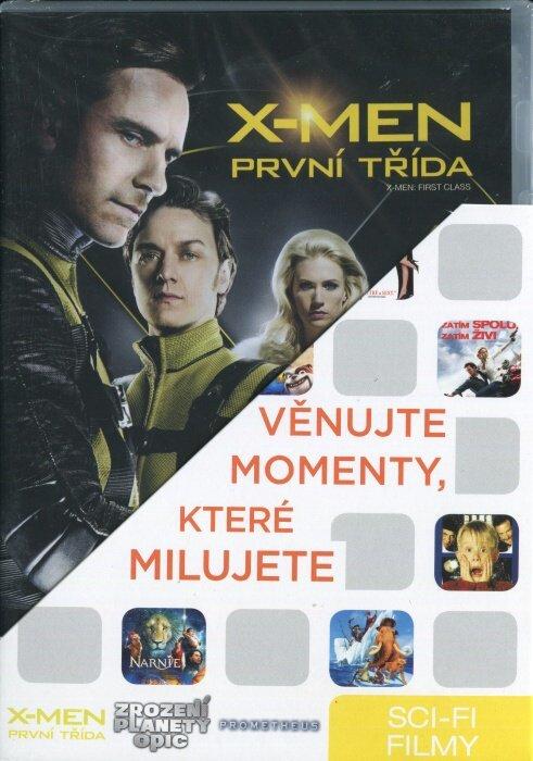 Sci-Fi (Prometheus, Zrození planety opic, X-Men: První třída)