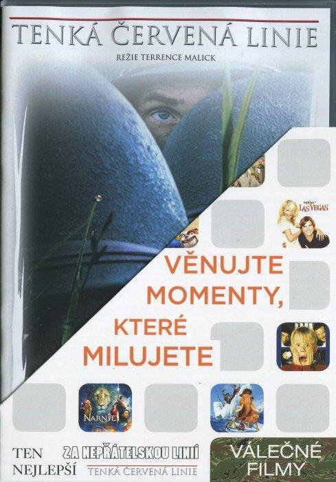 Válečné 2 (Tenká červená linie, Ten nejlepší, Za nepřátelskou linií) - 3 DVD