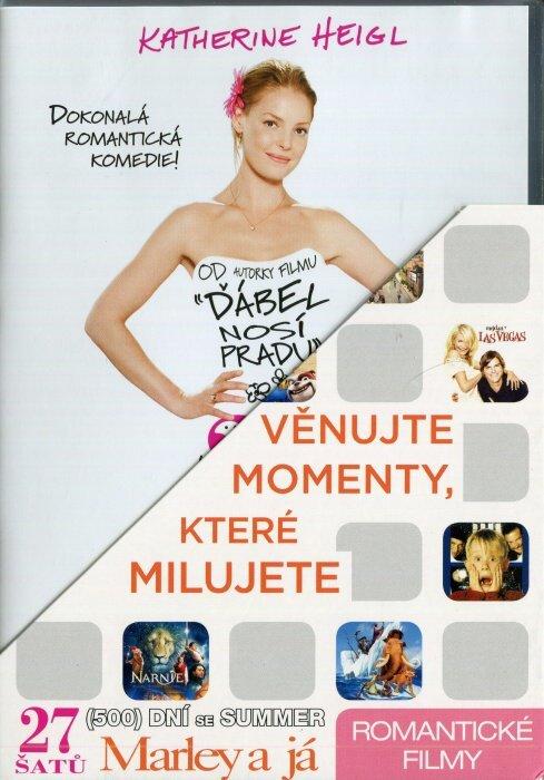 Romantické 1 (27 šatů, 500 dní se Summer, Marley a já) - 3 DVD