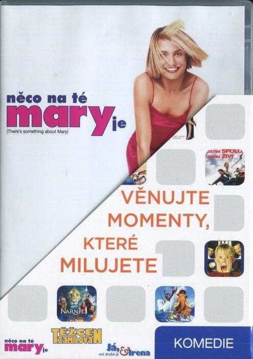 Komedie (Něco na té Mary je, Já, mé druhé já a Irena, Těžce zamilován) - 3 DVD