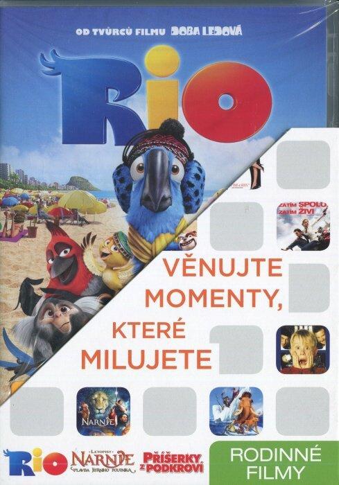 Rodinné 1 (Rio, Letopisy Narnie, Příšerky z podkroví) - 3 DVD