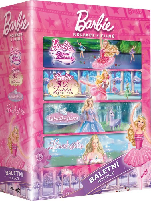 Barbie - kolekce Baletka (4xDVD)