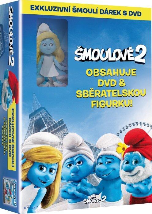 Šmoulové 2 - FILM (DVD) + Šmoulí figurka