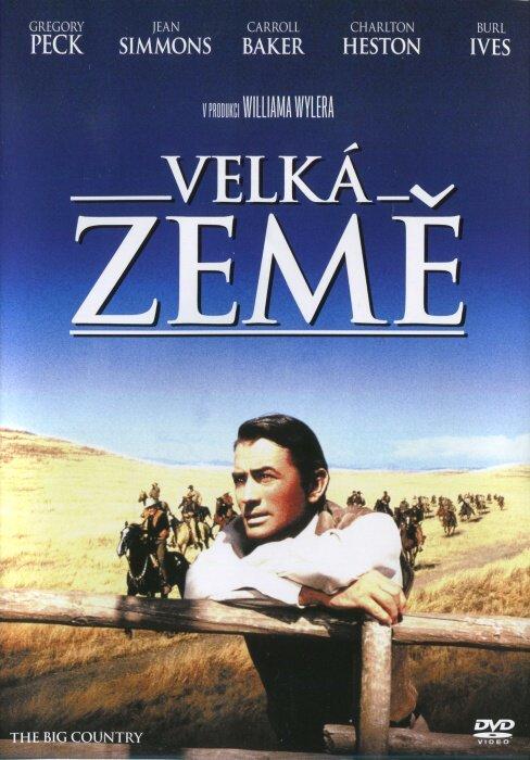 Velká země (Gregory Peck) (DVD)