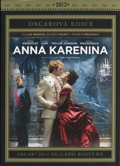 Anna Karenina (DVD) - Oscarová edice