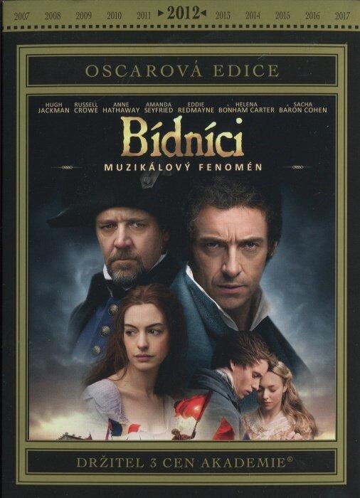 Bídníci (DVD) - muzikál - české titulky - Oscarová edice