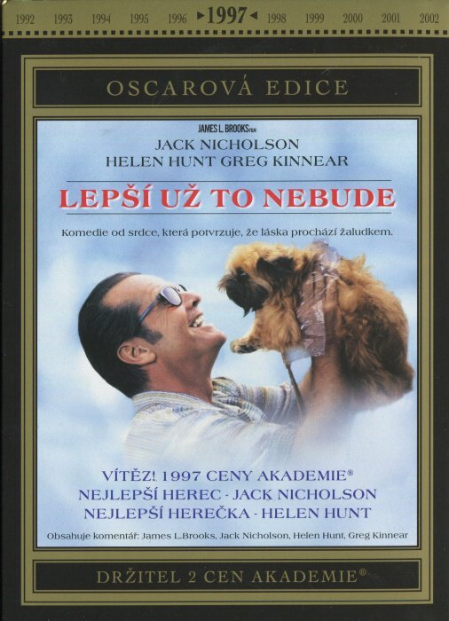 Lepší už to nebude (DVD) - Oscarová edice