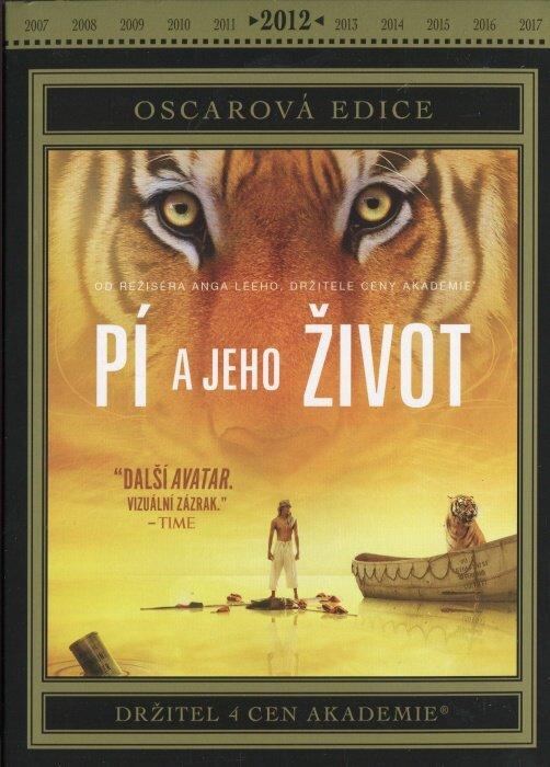Pí a jeho život (DVD) - Oscarová edice