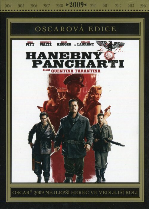 Hanebný pancharti - 1xDVD - Oscarová edice