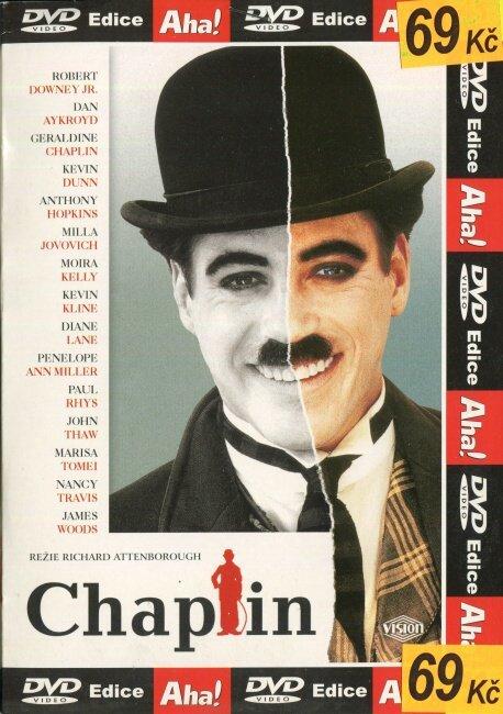 Chaplin (DVD) (papírový obal)