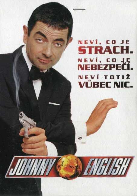 Johnny English (DVD) (papírový obal)