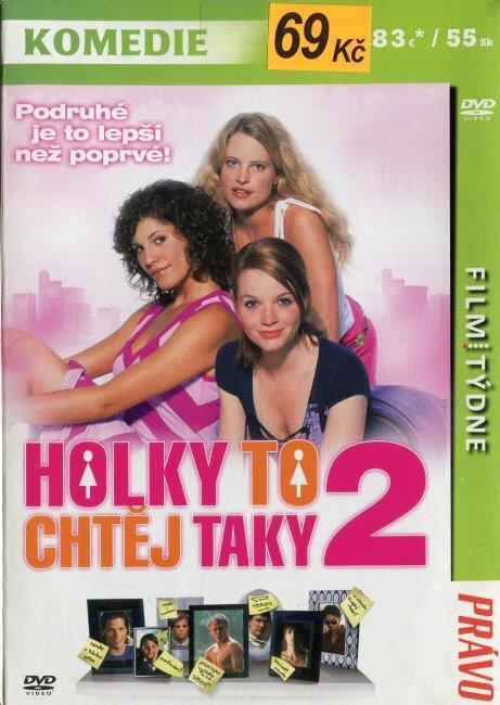 Holky to chtěj taky 2 (DVD) (papírový obal)