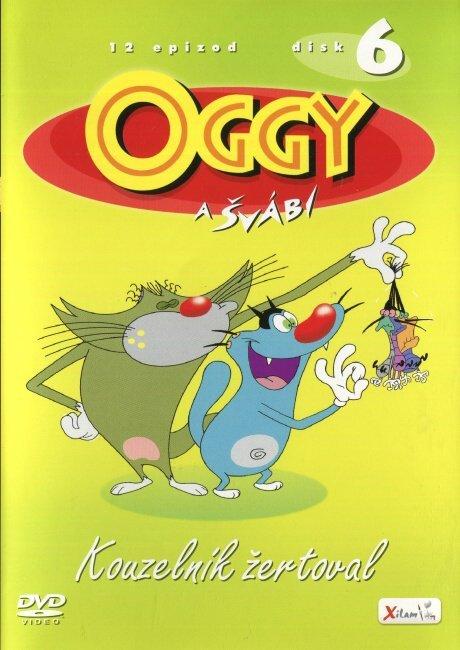 Oggy a švábi - 06 - Kouzelník žertoval (DVD)