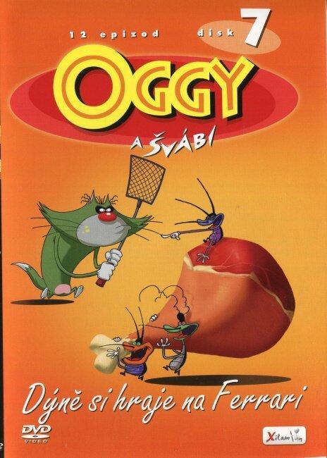 Oggy a švábi - 07 - Dýně si hraje na Ferrari (DVD)