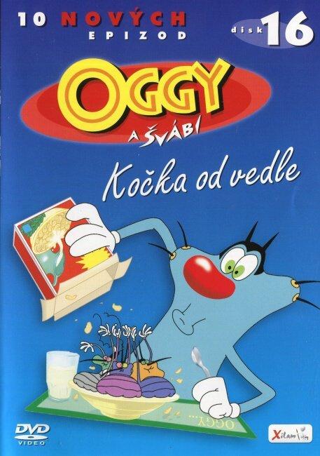 Oggy a švábi - 16 - Kočka od vedle (DVD)