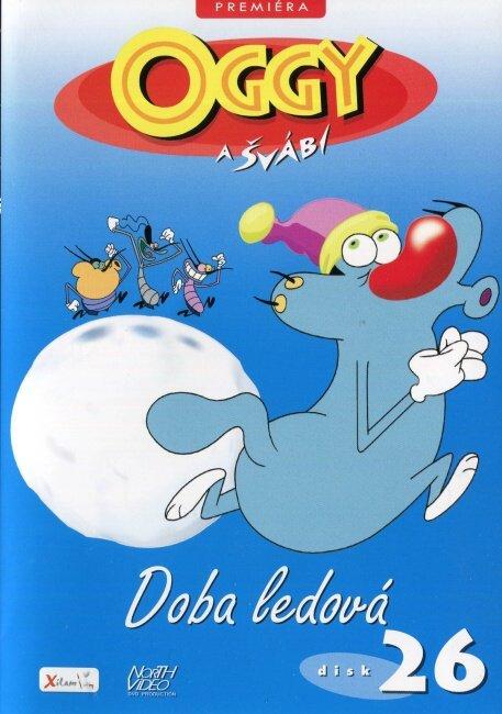 Oggy a švábi - 26 - Doba ledová (DVD)