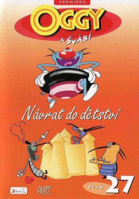 Oggy a švábi - 27 - Návrat do dětství (DVD)