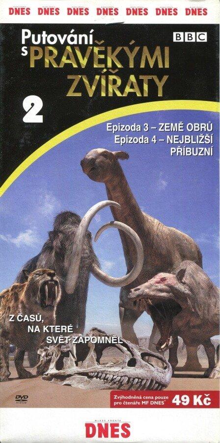 Putování s pravěkými zvířaty 2 (DVD) (papírový obal) - BBC