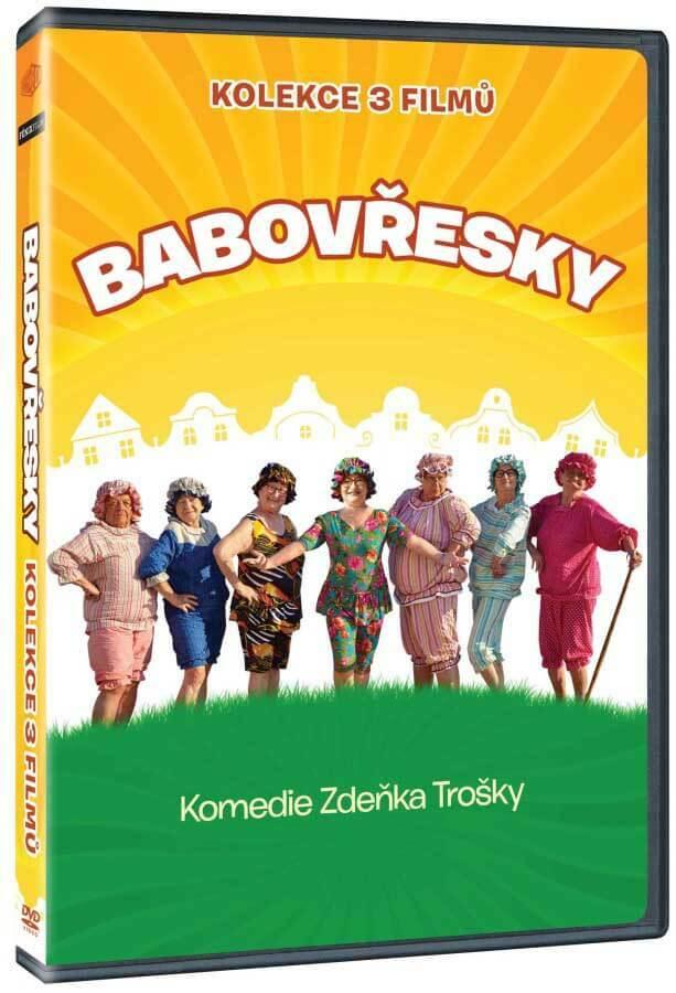 Babovřesky 1-3 - kolekce (3xDVD)