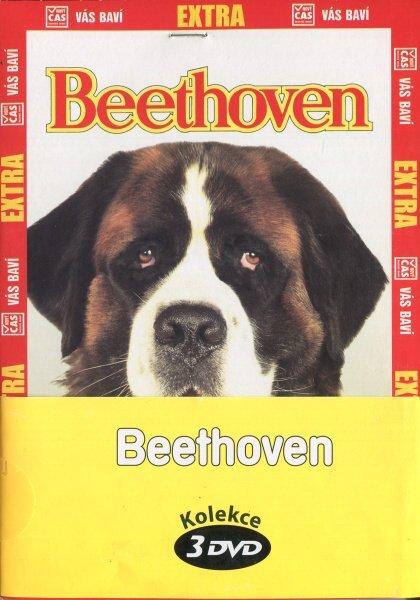Beethoven - kolekce 3 DVD (papírový obal)