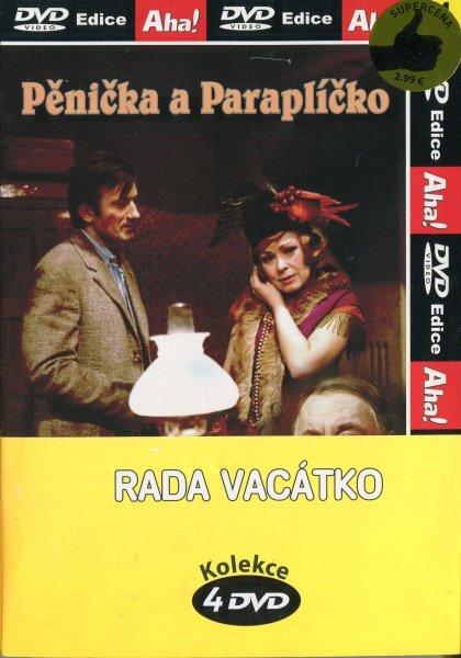 Rada Vacátko - kolekce 4 DVD (papírový obal)