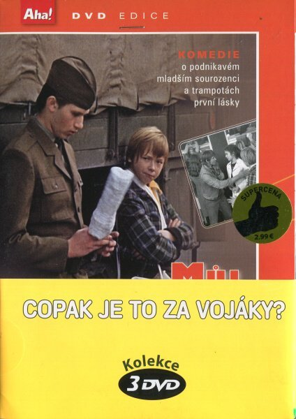 Copak je to za vojáky? - kolekce 3 DVD (papírový obal)
