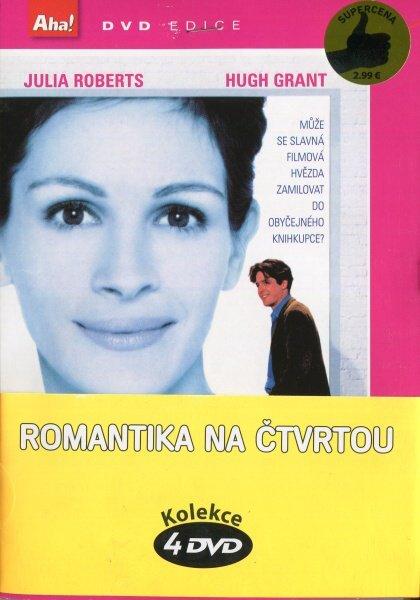 Romantika na čtvrtou - 4 DVD (papírový obal)