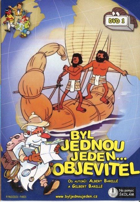 Byl jednou jeden objevitel - KOMPLET 6 DVD (papírový obal)