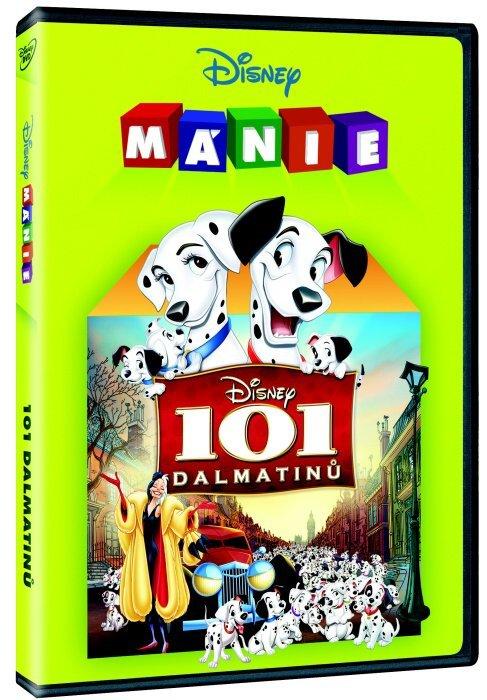 101 Dalmatinů (DVD) - animovaný - Edice Disney mánie