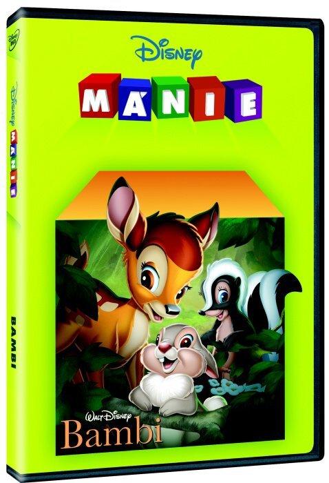 Bambi (DVD) - Edice Disney mánie