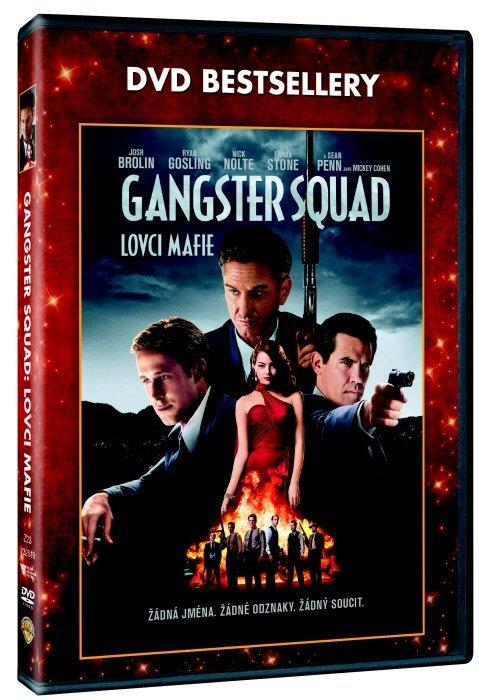 Gangster Squad - Lovci mafie (DVD) - DVD bestsellery