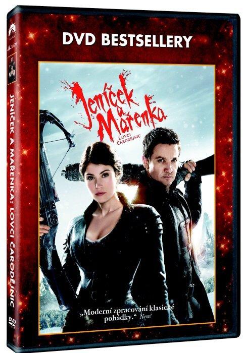 Jeníček a Mařenka: Lovci čarodějnic (DVD) - DVD bestsellery