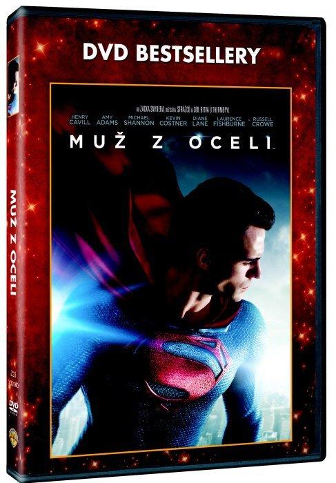 Muž z oceli (DVD) - DVD bestsellery