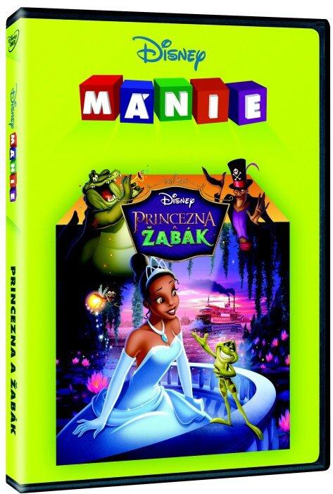 Princezna a žabák (DVD) - Edice Disney mánie